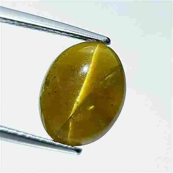 Natural Apatite cat's Eye 6.35 ct