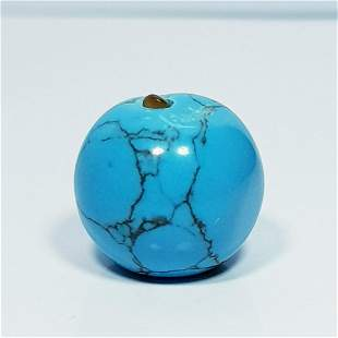 9.93 Ct Natural Turquoise Drilled Bead