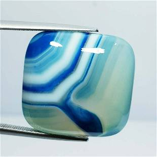 33.00 Ct Natural Blue Lace Agate