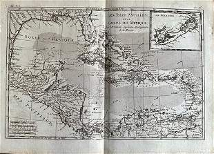 Caribbean with Florida, gulf coast and Central America.