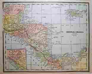 Central America 1891