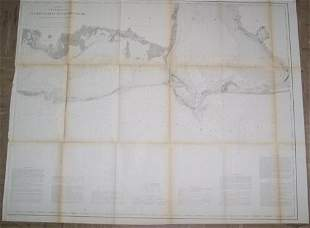 Preliminary Coast Map No.91 Eastern Part of Mississippi