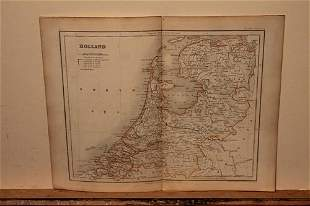 1832 Map of Holland