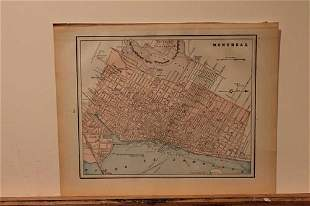 1889 Map of Montreal