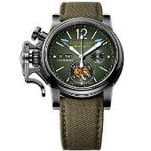 Graham Chronofighter Vintage Green Flying Tigers