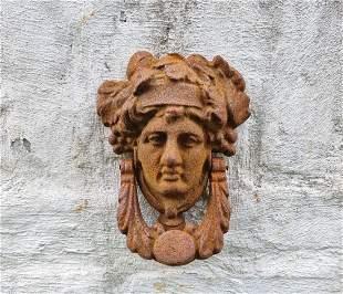 Cast-iron Door knocker - Classic design