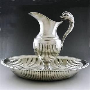 20th-century Russian Art Deco arowana flask kit