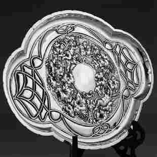 1906 British 925 sterling silver tea set