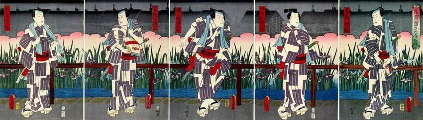 KUNISADA I, Utagawa, An Imaginary Thirty-six Poets: