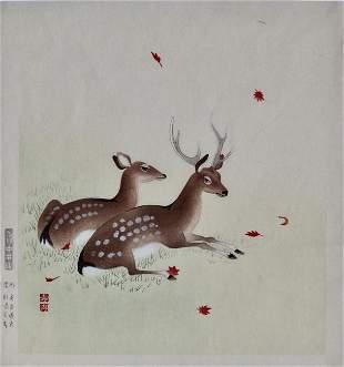 Unidentified artist: Deer