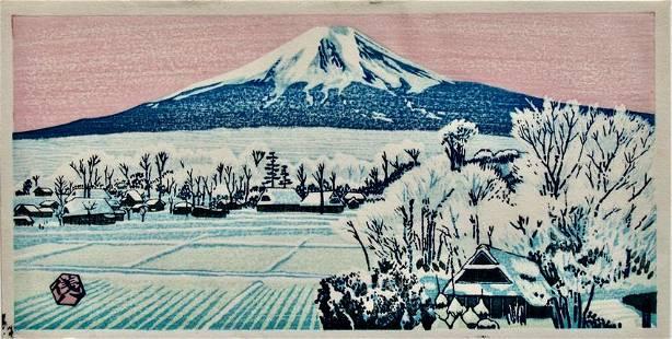 Gihachiro Okuyama: Mt Fuji
