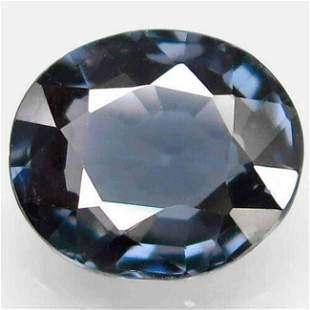 Natural Titanium Blue Spinel 1,58 ct