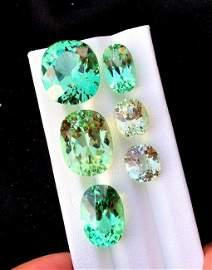 Kunzite Gemstone ~ Natural Green Color Spodumene