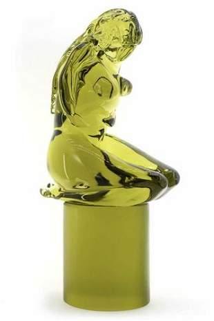 """Giancarlo Signoretto - Murano glass Sculpture """" Pietà """""""
