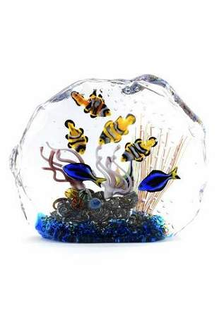 Francesco Ragazzi - Murano Glass submerged acquarium