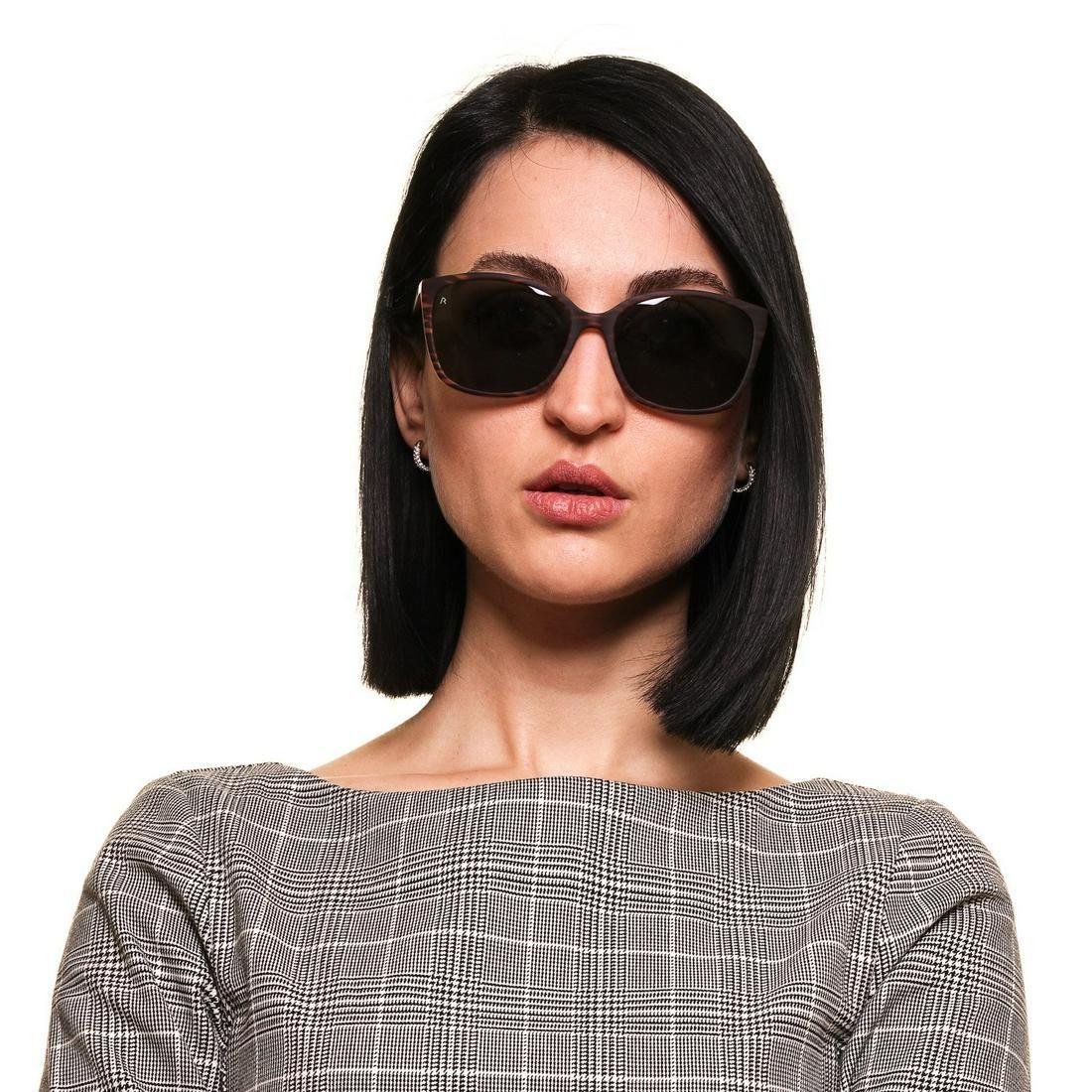 Rodenstock Mint Women Brown Sunglasses R3291 A 57