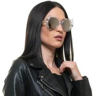 Roberto Cavalli Mint Women Transparent Sunglasses