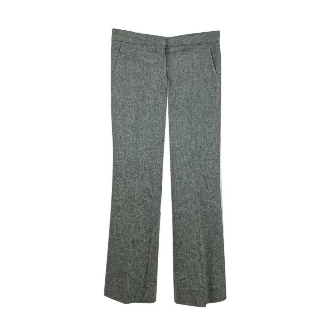 Stella McCartney Grey Wool Cashmere Trousers Size 40 IT