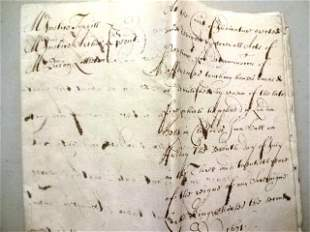 1671 English Judgement Cheapside Spenser Family