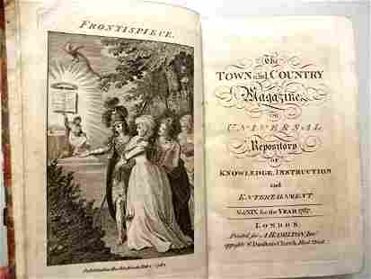 1787 Volume Town and Country Magazine