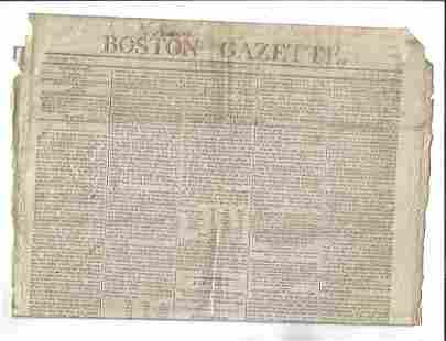 1805 Boston Gazette Independence of Judiciary