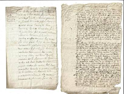 1750 Three French Legal Manuscripts