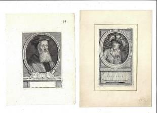 18th C Fine Engraving Jean Bart