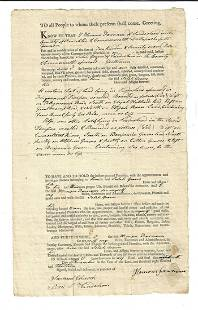 1813 Massachusetts Deed Sunderland