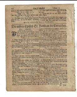 1776 Saur Revolutionary War Bible Leaf
