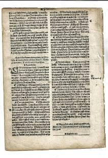 1537 Czech Bible Leaf