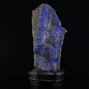 7.1Kg Chinese Natural Lapis Lazuli Original Stone