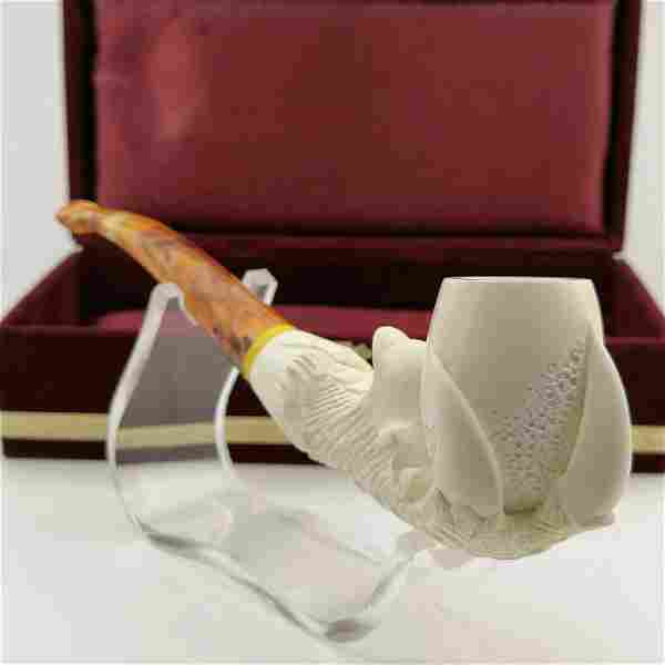 Eagle Claw,Hand carved Meerschaum Pipe.