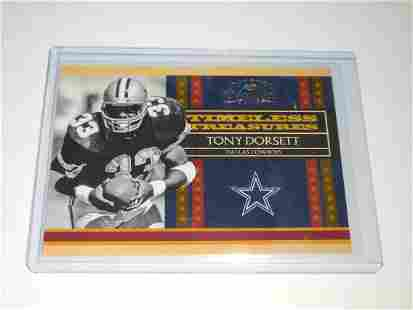 2008 DONRUSS CLASSICS TONY DORSETT TIMELESS TREASURES