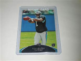 2011 TOPPS PRIME FOOTBALL #50 CAM NEWTON ROOKIE CARD