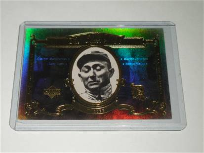 2001 UPPER DECK HALL OF FAMERS CLASS OF '36 TY COBB