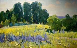 Oil painting Khitrova Tamara Alexandrovna Natural