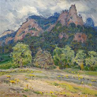 Oil painting Glade Tyukha Ivan Andreevich