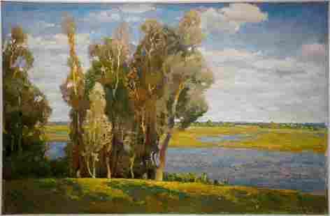 Oil painting Natural landscape Minka Alexander