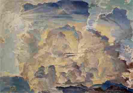 Oil painting The clouds Chernikov Nikolay Vladimirovich