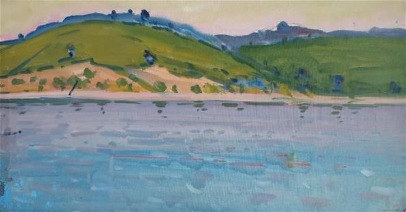 Oil painting Landscape Tyukha I.