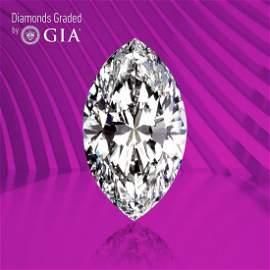 3.02 ct, Color E/VS2, Marquise cut GIA Graded Diamond