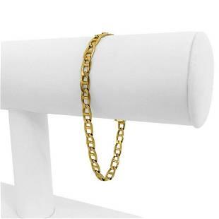 14k Yellow Gold 8.4g Ladies 4.5mm Mariner Gucci Link