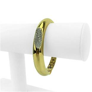 Roberto Coin Capri Plus 18k Yellow Gold and Diamond
