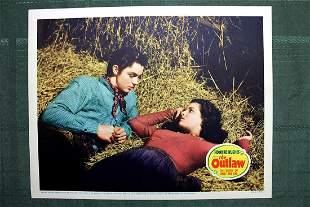 The Outlaw (USA, 1943) Movie Lobby Card