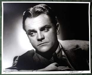 James Cagney by George Hurrell (III Hurrell Portfolio)