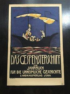 Das Gespensterschiff - Art by Willenstein (1920)