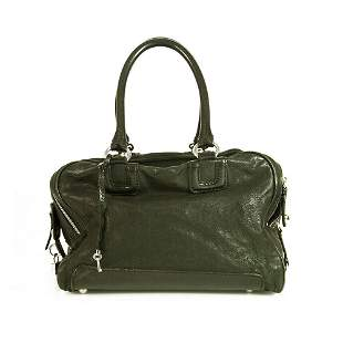 Dolce & Gabbana D&G Large Lily Glam Black leather 5 zip