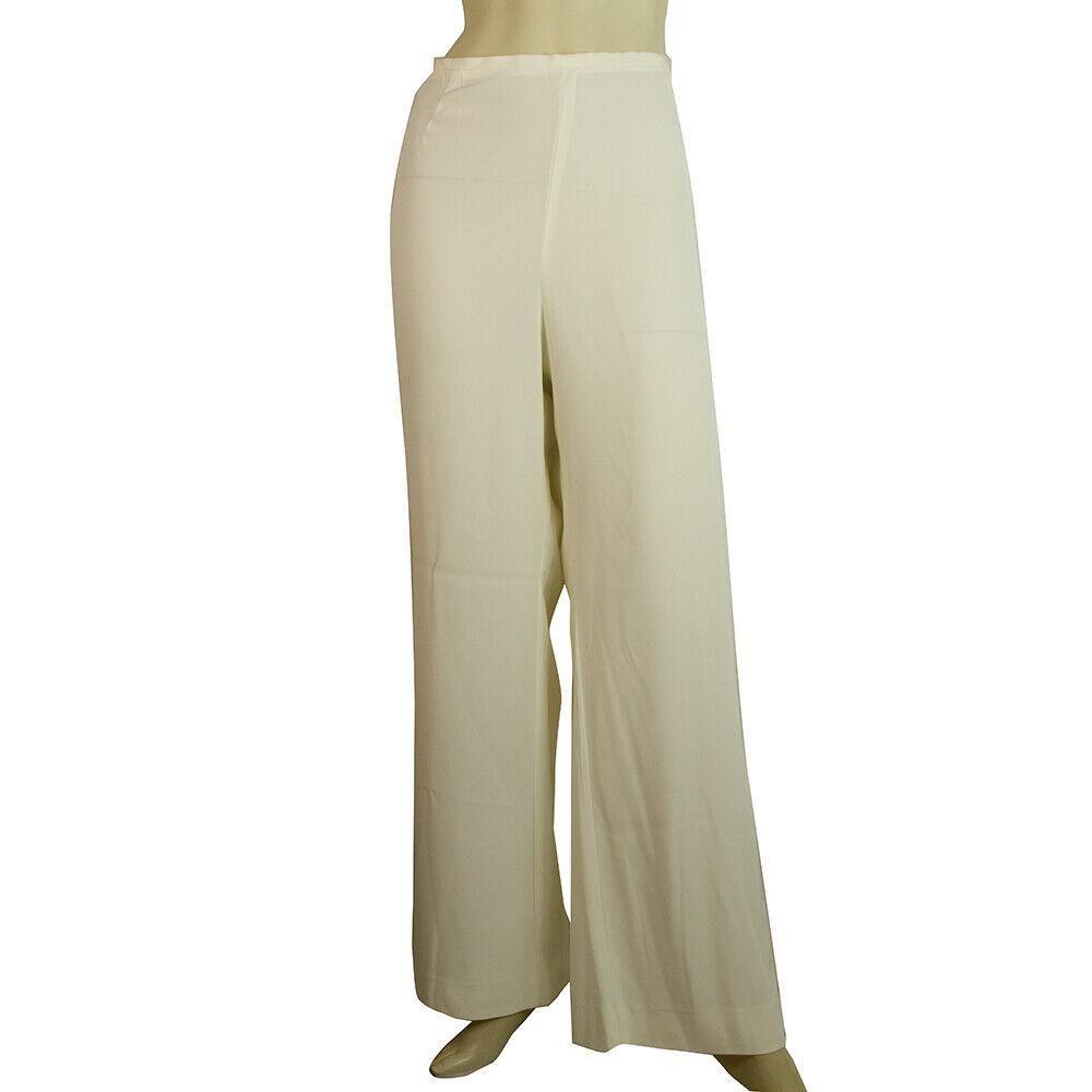 Laurel Off White Ivory Flare Leg Dress Summer trousers