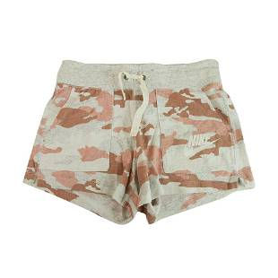 Nike Pink Gray Camo Camouflage Shorts Track Sport Short