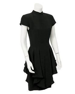 Anonymous Black open back dress